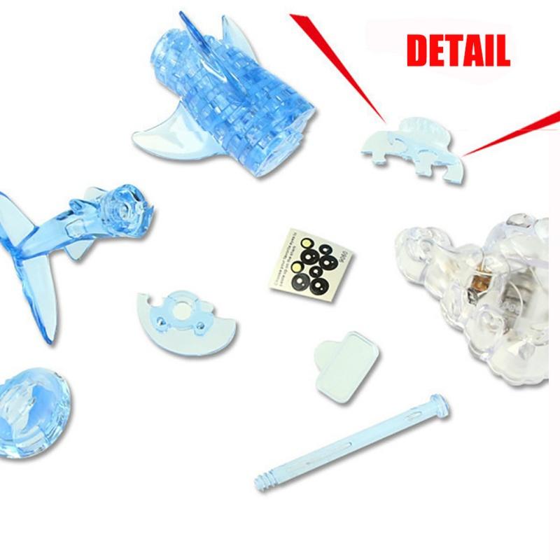 """""""Sparkle Shark"""" 3D Shark Puzzle Crystal 3"""