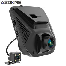 Azdome A305D Dual Lens FHD 1080P Car DVR Novatek 96658 LCD Screen Sony IMX323 Car Video Recorder Dash Cam With Rear Camera(China)