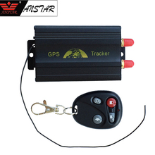 ANSTAR Car GPS Tracker TK103B GPS locator GSM GPRS Tracking System Motorcycle Alarm Location Tracker Remote Control GPS Locator(China)