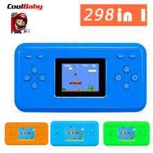CoolBaby RS18 1.8'' LCD NES FC 298 Games Retro Video Games Handheld Console 8 Bits(China)