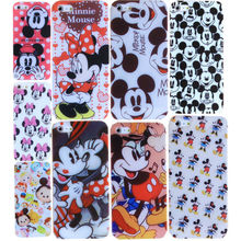 Cute Cartoon Dancing Mouse Print Capa Coque For iphone 4 4s 5 5s 5se 6 6s 7 7 plus Case Cover Silicone Soft TPU Bags Slim Capa