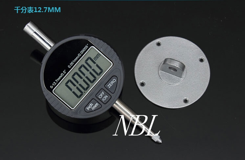 12.7mm/0.5 Micrometer 0.001mm Digital Gauge Meter Electronic Dial Gauge With RS232 Data Out With Retail Box<br><br>Aliexpress