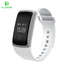 FLOVEME Sports Passometer Wristband Bluetooth 4.0 Smart Watch For Android iOS Sleep Monitor Bracelet Clock For iPhone Samsung(China)