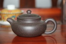 Chinese tea set yixing puer teapot Antique black Zhu mud yi xing pu er tea pot about 170ml