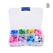 Dolls Accessories Mixed Color Plastic Dolls Wiggle Eyes DIY Supply Scrapbooking Crafts 160/200Pcs(China)