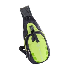 Mens Underarm Anti-Theft Holster Cross-Body Shoulder Fashion Travel Bag Green(China)