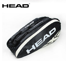 Head Tennis Bag Brand Tennis Racquet Bag Large Capacity Tennis Bag Unisex Nylon Dacron Tennis Racket Racquet Backpack 74*26*33cm(China)