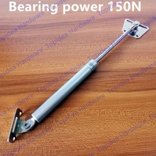 100N/150N  10kg/15kg Force Lift Support Furniture Gas Spring Cabinet Door Kitchen Cupboard Hinges Lid Stays Soft Open/Close