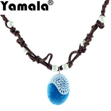 [Yamala] New Movie Original Moana Princess Necklace Pendant Cosplay Model Action Figure Toys For Kid Party Supply Gift