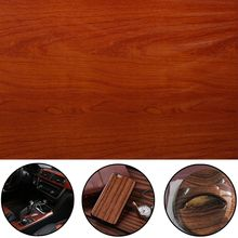 Wood Grain Print Hydrographic Film Mayitr Adhesive Water Transfer Film Odorless Hydro Dipping Film for Auto Decorating 50*100cm