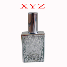 100pcs / Batch High Quality 30mlUV Carved Glass Perfume Bottle Glass Spray Bottle Empty Perfume Bottle Can Add Free Delivery