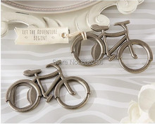 """Let's Go On an Adventure"" Bicycle Bottle Opener Wedding Favors Kids Birthday Party Supplies +100pcs/lot"