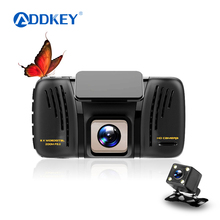 ADDKEY car dvr camera Novatek 96658 Sony IMX322 dual lens dash cam 4.0 inch car dvrs FHD 1080P Night Vision 160 degree car dvrs(China)