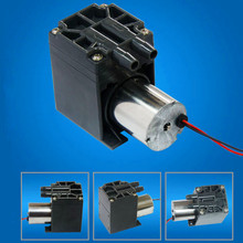 18L/M electric 12V dc  brushless motor diaphragm small air compressor