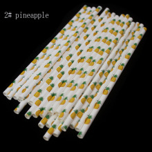 drinking paper straws fruit option for Birthday Wedding Party Decoration gift craft DIY favor Wh
