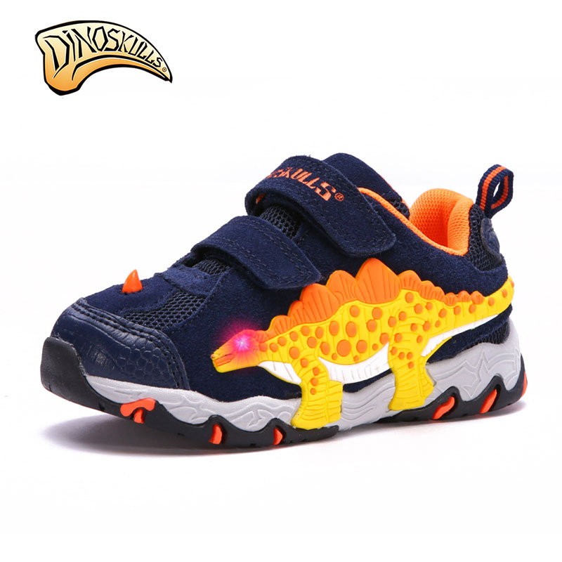 Fashion New Boy Baby Personality 3D Dinosaur Shoes Autumn And Winter Comfortable Warm Non-Slip Boy Casual Sports Shoes For boys <br>