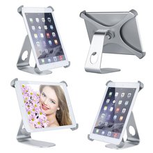 High Quality X Style 360 Degree Rotatable Aluminum Alloy Desktop Holder Table Stand for Apple iPad 2 3 4 QJY99