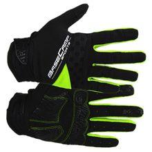 Running Gloves BaseCamp Touch Screen Outdoor Sport Gloves Men Women Army Winter Gloves Full Finger Cycling Gloves(green)