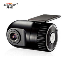 SHUNWEI Car Hidden Mini Camera Digital Video Recorder Dash Cam Full HD 1080p Rearview Mirror Front DVR Dash Camera No Battery