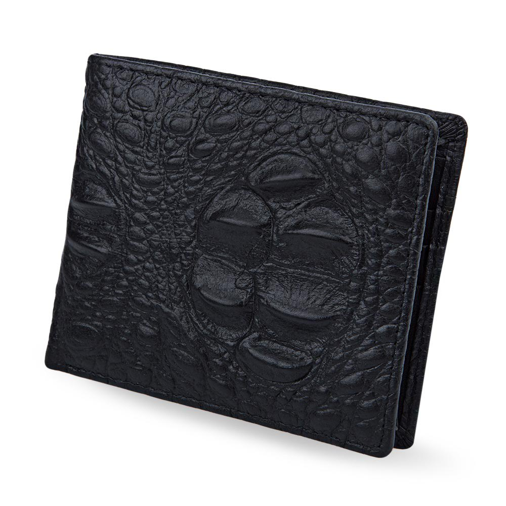 3D Crocodile Men Clutch Wallet Black Brown Open Horizontal Wallet for Men High Quality Short Bifold Purse Credit Card Holder<br><br>Aliexpress