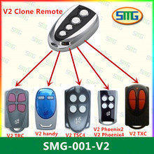 Scimagic Free Shipping Clone 433.92Mhz Rolling Code Garage Door Gate Remote Control V2 X 1pcs(China)