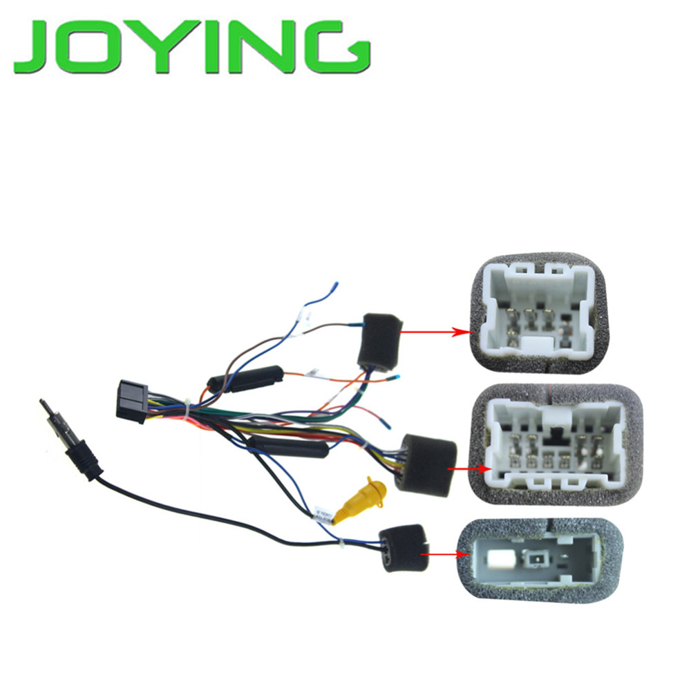 Joying Wire Harness For Toyota Hilux Only Android Device Subaru Radio Wiring Adapter Cable Nissan