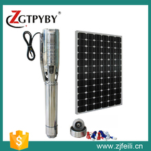 More than 90% customers make payment before meeting us solar pump solar water pump system(China)