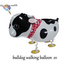 Hot selling !!!Cute Pet Balloon Walking Animal Balloon Helium Balloon free shipping By DHL/FEDEX2000pcs/lot
