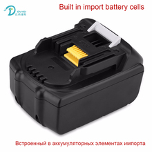 Original DVISI 18V 3000mAh Li-ion Rechargeable Battery Pack Replacement Power Tools Batteries for Makita BL1830 BHP451