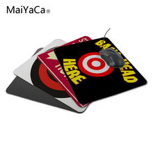 MaiYaCa Unique Design Custom Funny Bang Head Here Mouse Pad Necessary Drop Shipping Not Lock Edge Mouse Pad(China)
