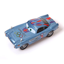 Disney Pixar Cars Paralympic Games Rings London 2012  Finn McMissile Diecast Metal Toy Car 1:55 Loose Alloy Car Toy For Children