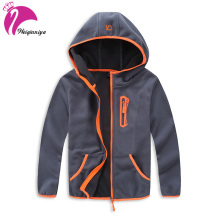 Jacket For Boy Casual Boy Sports Windbreaker Polar Fleece Hoodies Jacket Children Cotton Thick Zipper Outwear Jacket For Kid Hot(China)