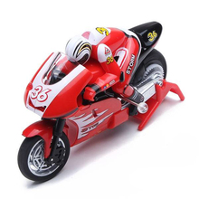 Create Toys shenqiwei 8012 2.4G 3CH 1/20 Scale Mini RC Motorcycle Remote Control Electronic Toy RTF Christmas Children Kids Gift(China)