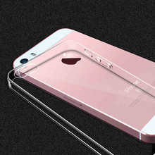 Ultra Thin Soft TPU Gel Transparent case for iPhone 5S case For iPhone 5 SE Crystal Clear Silicon Cover For IPhone 5 case Coque