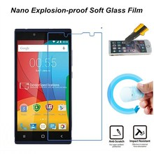 Hight Quality Nano Explosion-proof Soft Glass Protective Film Screen Protector for Prestigio Grace Q5 Film(China)