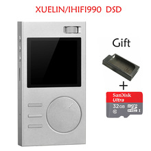 2017 New XUELIN IHIFI990 DSD Portable Lossless Hifi Audio MP3 Music Player With HD OLED Screen Support APE/FLAC/ALAC/WAV/OGG(China)