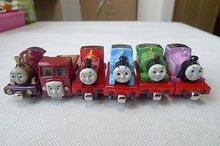 TT03-- Learning Curve Thomas & Friends Metal Magnetic Thomas/lady/rosie/percy/mike/lorry 6pcs Toy Cars Set New Loose