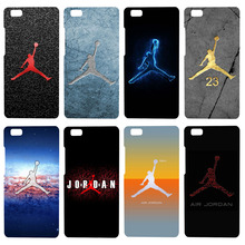 Luxury basketball star 23 Jordan logo phone cases for Huawei P8 lite case black cover