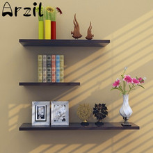 3Pcs/Lot Wooden Study Shelf Bolt Insert Wall Hanging Storage Holder Removable Home Bedroom Wall Decoration Sundries Organizer