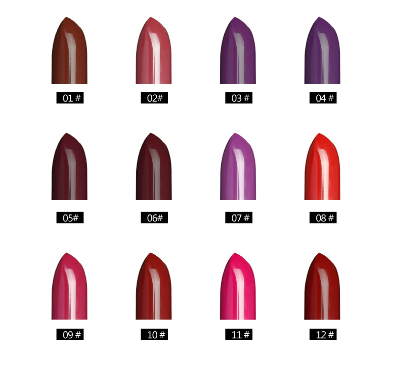 Lipstik EMOTICON zócalo de la mujer 40 Nero o6yLHO