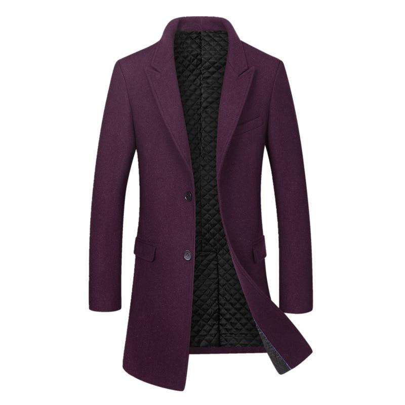 De Gruesa Hombre Chaqueta Compre Invierno Abrigo Largo Camisa Cálido O8nPX0wk