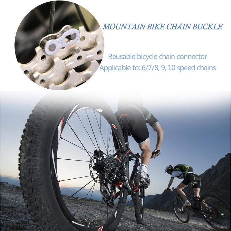 MTB Speed Buttons Bike Joint Chain Lock Set Bicycle Connector Quick Master Link