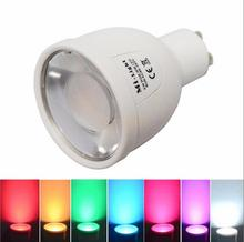 Original Mi Light 2.4G 85-265V GU10 4W Wifi RGB CW WW LED Bulb Bablle Lamp Wireless Brightness Color Dimmable Lighting
