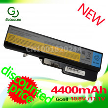 Golooloo 4400mAh Laptop Battery For Lenovo IdeaPad B470 G460 G560 G570 V370 V470 Z460 Z560 Z465  Z565 Z570 LO9S6Y02 L10P6Y22