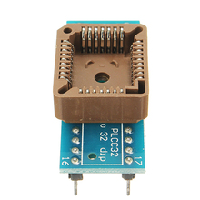 Hot Sale 1PC PLCC32 To DIP32 Programmer IC Adapter Socket Board Module(China)