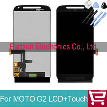 100% Tested New For Motorola for MOTO G2 G+1 XT1063 XT1068 XT1069 LCD Display with Touch Digitizer Assembly + Tool Free Shipping
