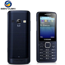 S5610 Original Unlocked Samsung S5610 mobile phone Bluetooth 5MP Camera GSM MP3 Player cellphone Free Shipping(China)
