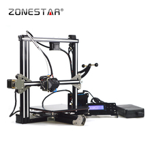 2017 Newest Full Metal Aluminum Frame Optional Filament Runout Detect Dual extruder Auto Leveling LCD SD Card 3D Printer DIY kit