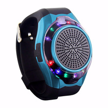NEW Generation Sports Wireless Bluetooth portable speaker Colorful flashing Night Running Support TF Card FM Audio Radio Speaker(China)