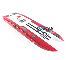 E32 KIT Cheetah / Germany Cat Fiber Glass Electric Racing Speed Boat Hull Only for Advanced Player Red